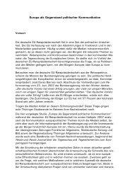 Vorwort von Jochen Fasco, Direktor der TLM - Thüringer ...