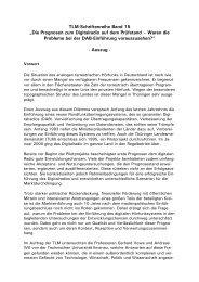 """""""An dieser Diskrepanz setzt unsere Studie an - Thüringer ..."""