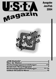 Ausgabe Jan/Feb 2004 - UStA