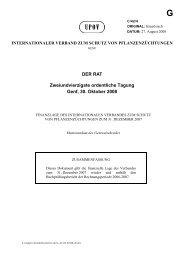 DER RAT Zweiundvierzigste ordentliche Tagung Genf, 30. Oktober ...