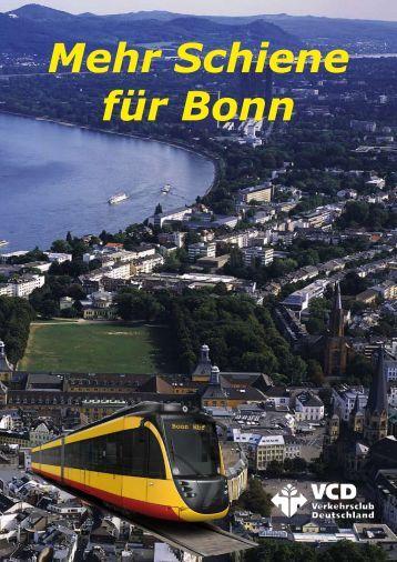 Mehr Schiene für Bonn - VCD