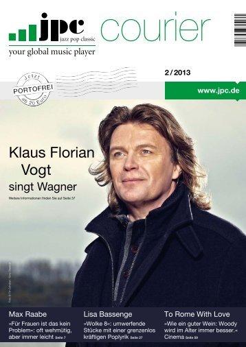 Klaus Florian Vogt - Jpc