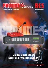 RCS_Proline-Serie_2013 (pdf, 1247.411 kb)Februar ... - oli.cc gmbh