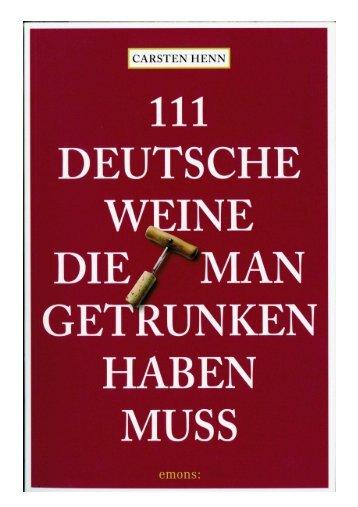 111 Weine - Weingut Barth