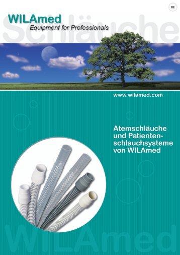 Atemschläuche und Patienten- schlauchsysteme von WILAmed