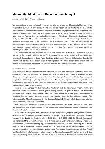 Merkantiler Minderwert Berechnen : minderwert magazine ~ Themetempest.com Abrechnung