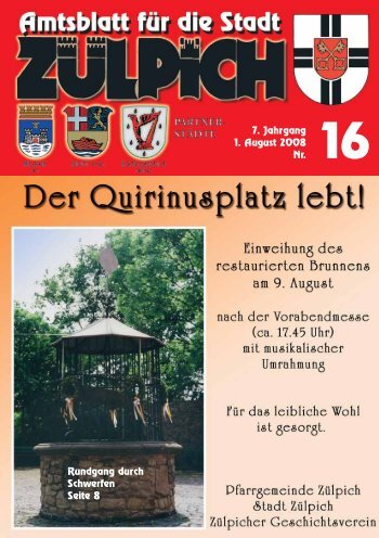 Amtsblatt1608.pdf - Stadt Zülpich