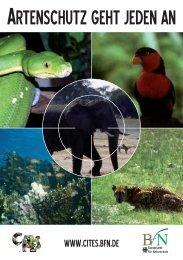 Artenschutz geht jeden an Artenschutz geht jeden an, pdf file