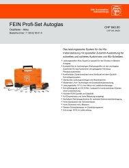 Datenblatt - C. & E. FEIN GmbH