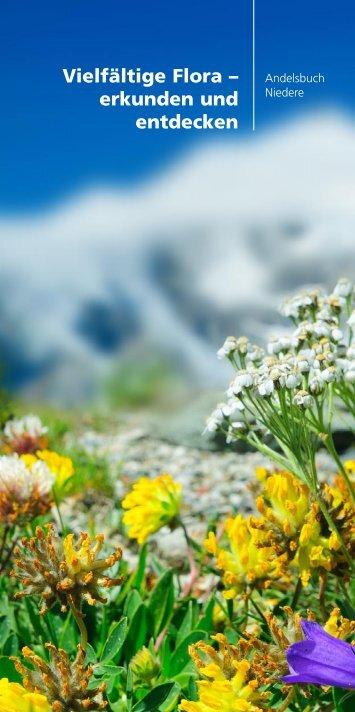 Vielfältige Flora – erkunden und entdecken - Andelsbuch