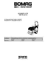 kombiwalze bw 90 ac-2 leistungsdaten - Buchberger GmbH Ingolstadt