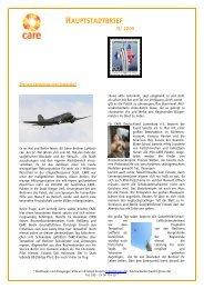 Hauptstadtbrief II/2009 - CARE Deutschland e.V.