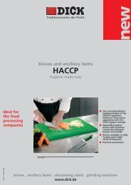 HACCP-Series - Friedr. DICK