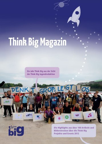 Think Big Magazin - Deutsche Kinder und Jugendstiftung