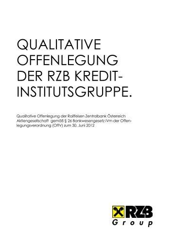Qualitative Offenlegung der RZB Kreditinstitutsgruppe_DE_update ...