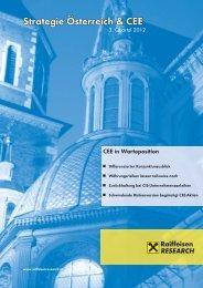 Strategie Österreich & CEE - RCB
