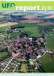 Deutschland am Rande, erschienen im UFO-Report