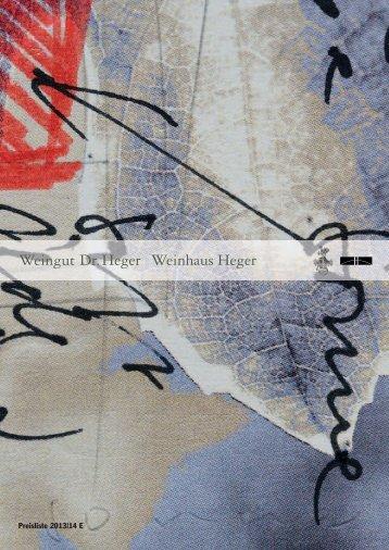 Heger Pl. 2013 E
