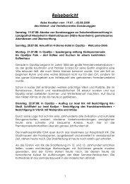 2008 Kroatien - Heimat- und Verkehrsverein Donsbrüggen