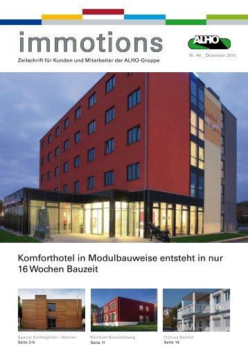 Komforthotel in Modulbauweise entsteht in nur ... - ALHO Systembau