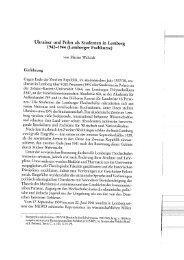 Ukrainer und Polen als Studenten in Lemberg 1942-1944 ...