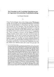 Die Deutschen in der Geschichte Ostmitteleuropas als Gegenstand ...