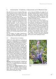 5. Schadursachen im Gartenbau, in Baumschulen und im ... - Isip