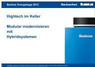 Vortrag Bernhard Herrmann, Bosch Thermotechnik GmbH - IWO