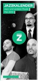 Mai 2013 - Jazzclub Leipzig eV