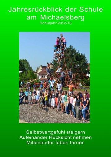 Jahresrückblick der Schule am Michaelsberg