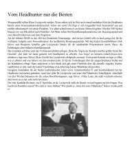 Impulse: Vom Headhunter nur die Besten - KDL Consulting GmbH