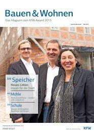 Beilage KfW-Award 2013 in DIE WELT