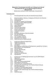 Mustererlass der Allgemeinen Verwaltungsvorschrift zum Vollzug ...