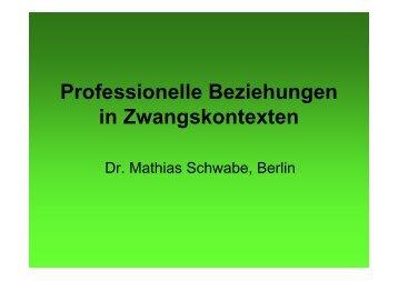 Präsentation Dr. Matthias Schwabe