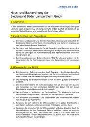 13-05-14 Haus- und Badeordnung - Stand Mai 2013