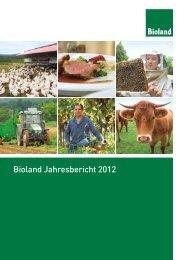 Bioland Jahresbericht 2012