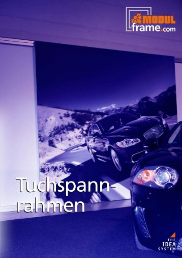 Tuchspannrahmen - Modul International