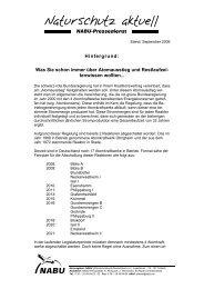 Hintergrundpapier zum Thema AKW-Restlaufzeiten (PDF ... - Nabu