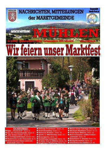Ausgabe 9/2009 - Mühlen