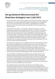 Der gescheiterte Börsenversuch der Deutschen Annington
