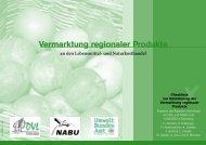 Vermarktung regionaler Produkte - Nabu