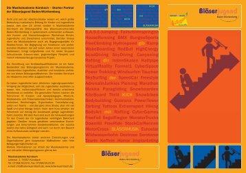 Die Musikakademie Kürnbach - Blasmusikverband Baden ...