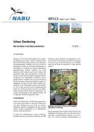 Urban Gardening - Nabu