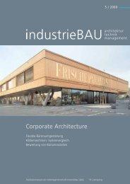 Corporate Architecture - OBERMEYER Planen + Beraten GmbH