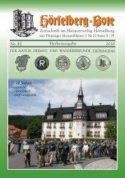 Nr. 82 2010 Herbstausgabe Zeitschrift im Heimatverlag ... - Der Bote