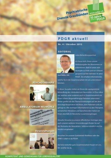 Ausgabe - Oktober 2012 (PDF) - PDGR