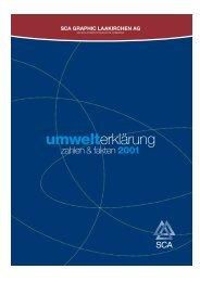 Umwelterkl−rung 2001_D - SCA