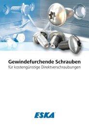 Gewindefurchende Schrauben - ESKA Automotive GmbH