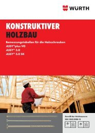 KONSTRUKTIVER HOLZBAU - Wuerth AG