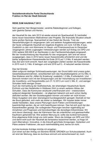 Die ganze Rede finden Sie hier als PDF-Datei - SPD-Stadtverband ...